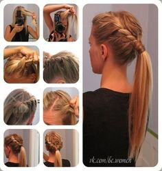 Beautiful and easy way to style hair