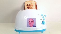The Selfie Toaster Toasts Your Face Onto Bread