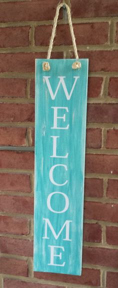 SHIPS NEXT DAY welcome Wood Sign Vinyl by itswritteninvinyl, $18.00