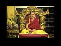 aula introdutória de budismo.