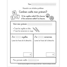 Amélie Pepin Numeracy Activities, Literacy And Numeracy, Math Centers, 1st Grade Math, Grade 1, Amelie Pepin, Maths 3e, Montessori Math, French Classroom
