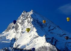 Ballooning Over the Alps, Bavaria. Repinned by www.mygrowingtraditions.com