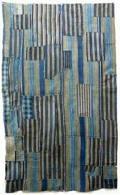 Japanese Boro  interesting patchwork ... hmmm ... imperfect quilting?? my style