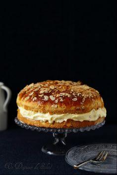 Tarte tropézienne - French brioche with pastry cream ©Edda Onorato