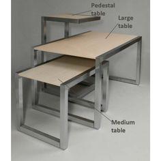 "alta series display table large 60"" wide"