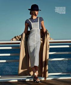 Julia Van Os | Spring 2018 Fashion Editorial | Harper's Bazaar Spain Cover