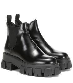 Chaussures Femme Bottines Chelsea En Cuir et Daim Plat Angleterre Casual Enfiler Oxford