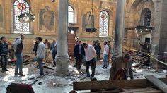 Shocking! Bomb Explosion Kills 25 People at a Catholic Church (Photos)
