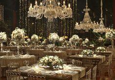Casamento Fernada Souza & Thiaguinho II - Say I do Wedding Reception Decorations, Wedding Venues, Wedding Ceremony, Luxury Wedding Decor, Indoor Wedding, Wedding Designs, Wedding Flowers, Wedding Planning, Dream Wedding