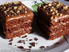 Adina's kitchen & travel: Preparate pentru Craciun Romanian Desserts, Romanian Food, Romanian Recipes, My Recipes, Cake Recipes, Cooking Recipes, Aniversary Cakes, Good Food, Yummy Food
