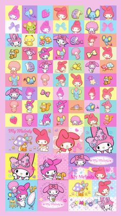 My Melody - Sanrio - Kawaii Stickers