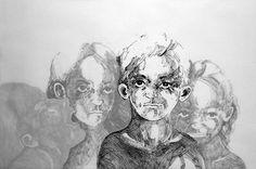 Robert Gabris Skull, Drawings, Graz, Pictures, Sketch, Portrait, Drawing, Resim, Skulls