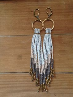 Kata Fringe Earrings : light weight fringed ear by LynzeeLynx