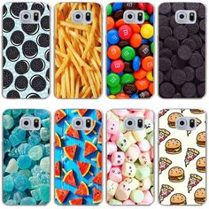 Cheap Half-wrapped Case, Buy Directly from China Suppliers:171 oreo cookie Pizza watermelon chips  Cover Case for Samsung Galaxy S3 S3 Mini S4 S5 Mini S6 S6 S8 edge plus S7 S7 Edge
