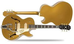 Epiphone ES-295 Gold  Semi-Hollow Archtop Electric Guitar