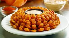 "- Get A FREE Bloomin Onion today only at Outback Steakhouse with any purchase! Just mention ""Bloomin' Monday"" to get yours! No coupon needed! View more - FREE Bloomin Onion at Outback Today ONLY Appetizer Recipes, Dog Food Recipes, Appetizers, Cooking Recipes, Kosher Recipes, Sauce Recipes, Dinner Recipes, Restaurant Deals, Restaurant Dishes"