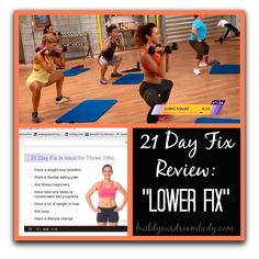 21 Day Fix: Lower Fix #Workout Review #21dayfix