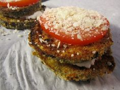 Eggplant Parmigiana - The Fit Cook - Healthy Recipes - Skinny Recipes