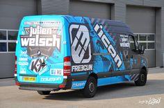 Kutvek Wrap - STUNT Julien WELSCH truck Sprinter