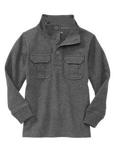 Mockneck pocket pullover | Gap