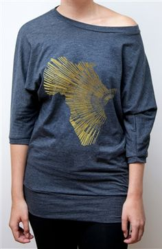Kisaruni Tee from Me to We Style. The best part is all of the profits go to a girl's school in Kisaruni, Kenya!