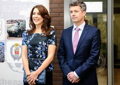 eubeaff:  Crown Princess Mary and Crown Prince Frederik on the last day of their three-day trip to Poland, May 15, 2014