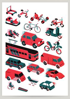 Race to Death by Aron Vellekoop León, via Behance