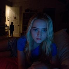Kathryn Newton as Alex Nelson from Paranormal Activity 4, 2012 American supernatural horror film, directed by Ariel Schulman and Henry Joost, directors of Paranormal Activity 3, and written by Christopher Landon from a story by Chad Feehan.