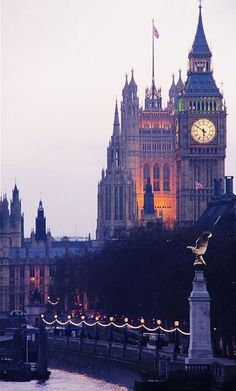 The Big Ben, London.-