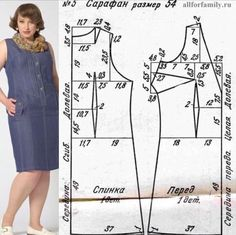 Sewing women clothes easy Ideas for 2019 Dress Sewing Patterns, Clothing Patterns, Costura Fashion, Sewing Clothes Women, Make Your Own Clothes, Gown Pattern, Sewing Lessons, Sewing Hacks, Chunky Crochet
