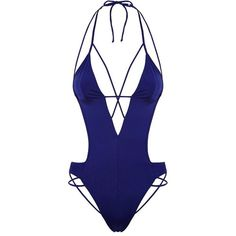 e210e36a63 Agent Provocateur Fiorella Swimsuit (175 CAD) ❤ liked on Polyvore featuring  swimwear