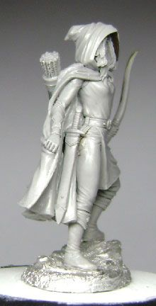 Easley Masterworks - Female Ranger - DSM4112  Sculpted by Jeff Grace