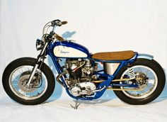 A Custom Yamaha SX650 by Kingston Customs, Germany.