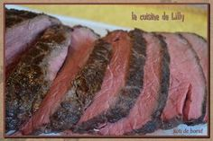 rôti de boeuf basse température Steak, Food, Meat, Cooker Recipes, Rare Roast Beef, Wish, Dish, Essen, Yemek