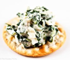 Clean Eating Spinach Dip Recipe