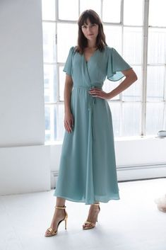 The 2019 Bridesmaid Dresses Have Arrived - wrap dresses-  Dress by Rewritten {Dan Lecca}