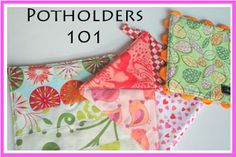 Potholders with a Punch 101 {Bermuda Triangle Potholder Tutorial #1}
