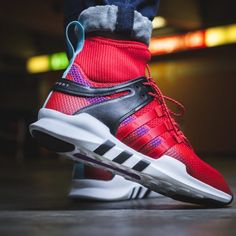 new arrivals ee149 ed0de adidas EQT Support ADV Adventure Scarlet