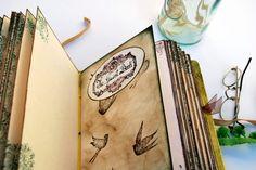 Wedding guest book storybook photo album por SevenMemoriesBookArt