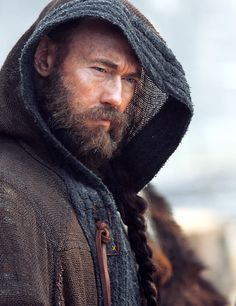 Kevin Durand as Harbard in Vikings Season 3