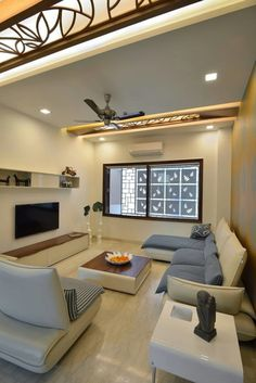 Ceiling Light Design, False Ceiling Design, Ceiling Lighting, Ceiling Ideas, Lighting Design, Ceiling Plan, Glass Ceiling, Indian Living Rooms, Living Room Modern