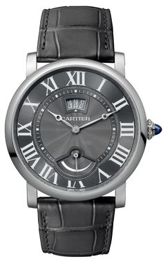 Cartier Rotonde Small Complication Watches Now In Steel