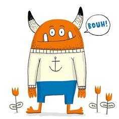 #monster #cute #character #design #illustration