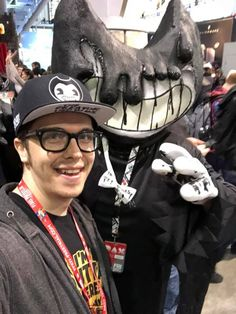 My brother Mike Mood - the co- creator of Bendy and the Ink Machine! ❤️