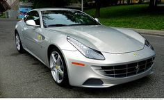 A Ferrari for the whole family? At a cool $300,000, maybe the Romney family... Still the car looks cool :-)