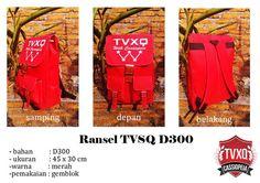 Halo para penggemar TVXQ Cassiopeia Indonesia, update produk kali ini juga ada lho buat kamu, yups Ransel TVXQ 300D ready stock dan siap di order..!!!  informasi dan Pemesanan : sms/call ke  WA/LINE ID Markartz Apparel  /