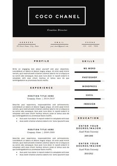 89 Best Yet Free Resume Templates For Word | Microsoft Word Free