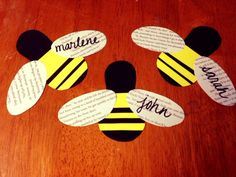 Bees! Day 16 of 30 Days of Inspiration through the RA Guide.  This whole site is something every RA needs to utilize!!