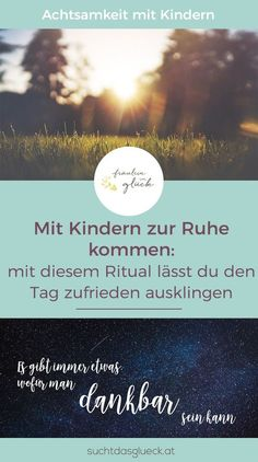Rest with children: with this ritual you can end the day happily - Miss in luck - Familie - Erziehung entspannt - Baby Co, Mom And Baby, Baby Kids, Infant Activities, Family Activities, Kindergarten Portfolio, Child Development, Baby Feeding, Family Life