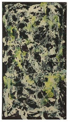 Jackson Pollock (1912-1956)  Vertical Composition I